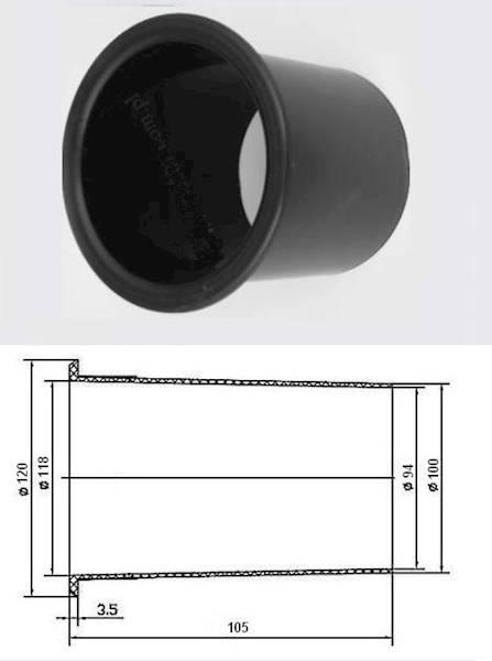 BASS REFLEX 10cm x 11,2cm 4598