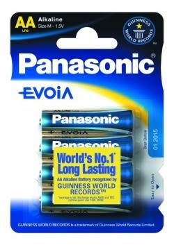 BATERIA PANASONIC LR6EE/4BP EVOLTA