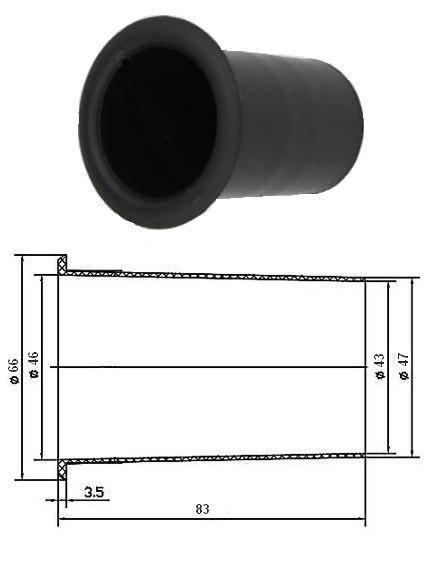 BASS REFLEX 4,8cm x 8,4cm 3076