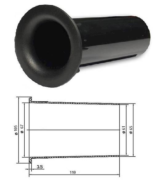 BASS REFLEX 6,6cm x 11cm 0814