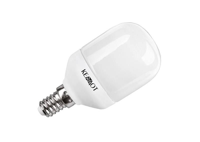 KOMPAKTOWA LAMPA FLUORES. TORPEDA E14, 10W