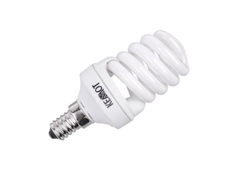 KOMPAKTOWA LAMPA FLUORES. MINI SPIRALA E14, 11W
