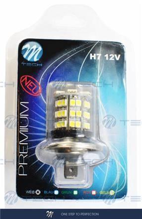 DIODA LED H7 X67 6XSMD5050 + 42XSMD3528