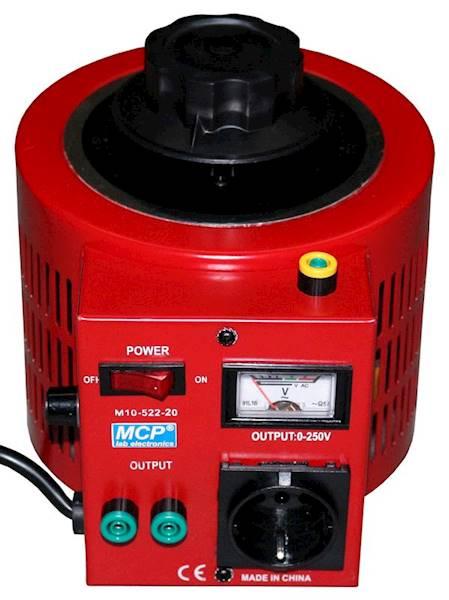 AUTOTRANSFORMATOR REG. M10-522-20 250/8 2kVA MCP