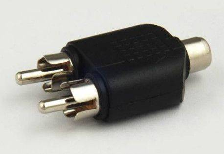 ADAPTER GN.RCA/2XWT.RCA / 2596