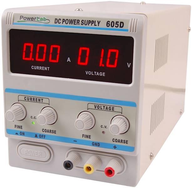 ZASILACZ LAB.POWERLAB 605D 60V/5A DC LED
