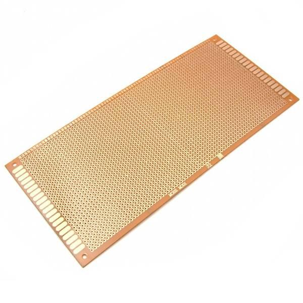 PŁYTKA UNIWERSALNA PCB 100X220mm 2,54mm WIERCONA