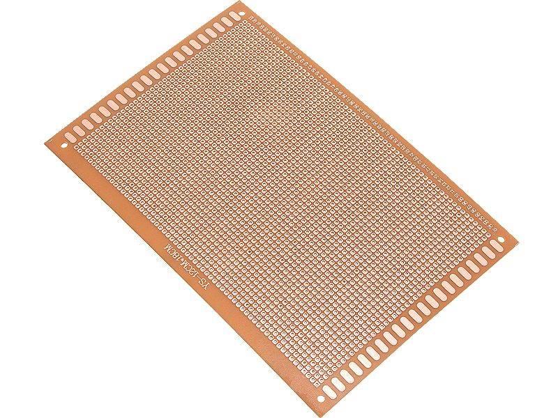 PŁYTKA UNIWERSALNA PCB 90X150mm 2,54mm WIERCONA