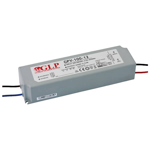 ZASILACZ LED GPV-100-12 12V/8.3A GLP GPV IP67