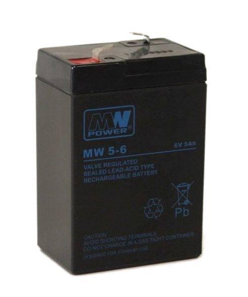 AKUMULATOR AGM 6V/5AH (T1)