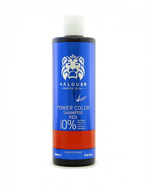 VALQUER Szampon VEGAN Red Power Color 400 ml