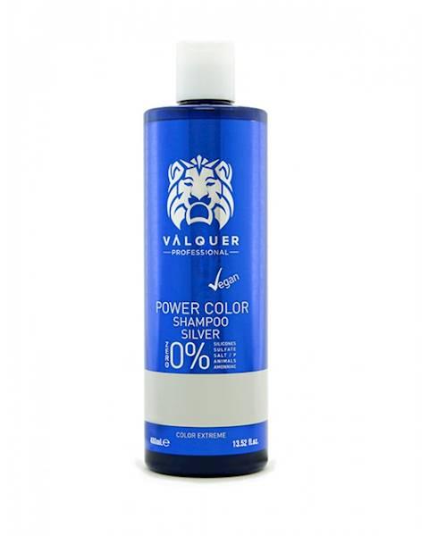 VALQUER Szampon VEGAN Silver Power Color 400 ml