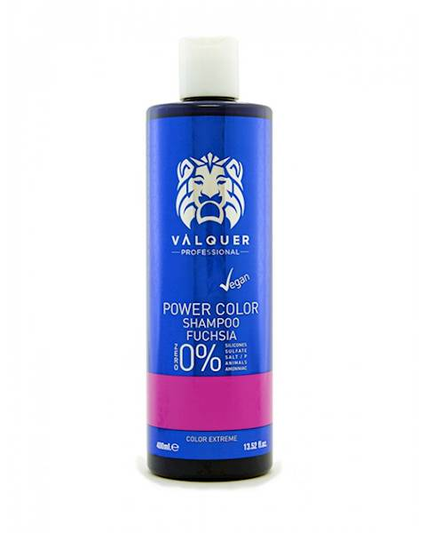 VALQUER Szampon VEGAN Fuchsia Power Color 400 ml