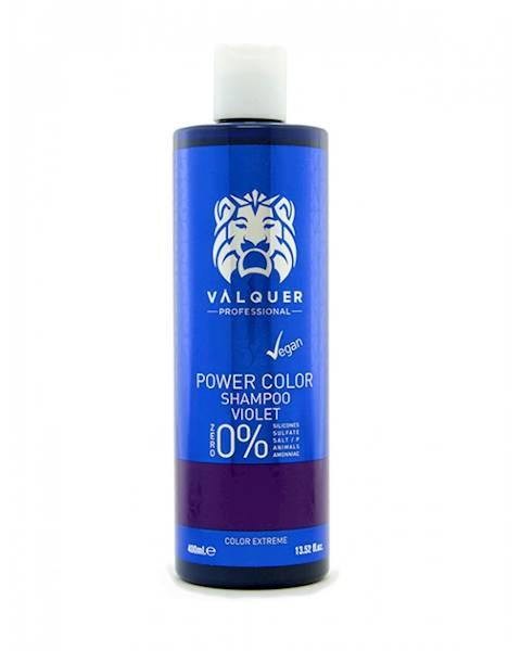 VALQUER Szampon VEGAN Violet Power Color 400 ml
