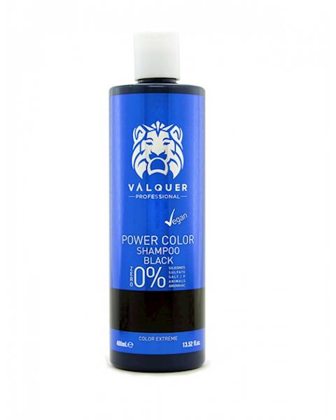 VALQUER Szampon VEGAN Black Power Color 400 ml