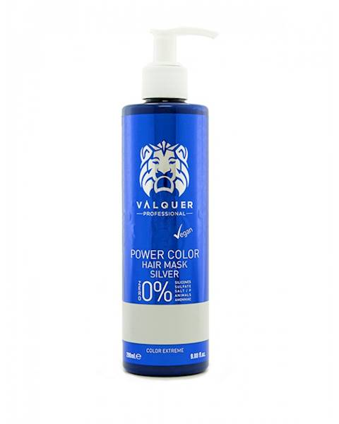 VALQUER Maska VEGAN Silver Power Color 290 ml