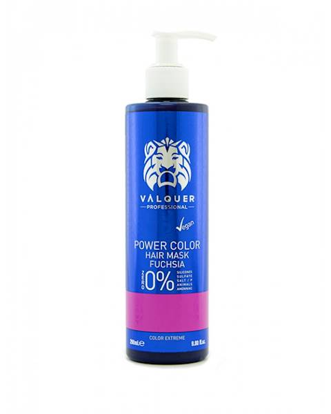 VALQUER Maska VEGAN Fuchsia Power Color 250 ml