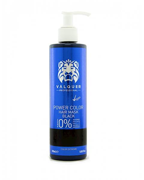 VALQUER Maska VEGAN Black Power Color 250 ml