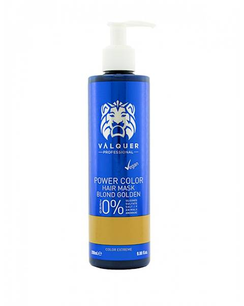 VALQUER Maska VEGAN Blond Golden Power 250 ml