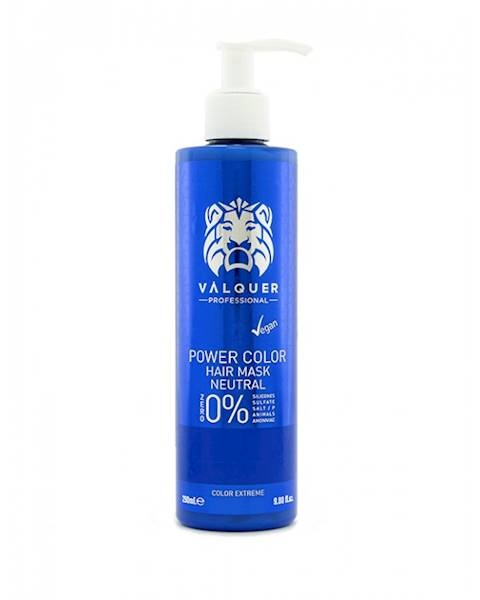 VALQUER Maska VEGAN Neutral Power Color 250 ml