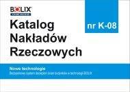 KNR K-08 KOPRIN Bezspoinowy system dociepleń ścian budynków w technologii BOLIX