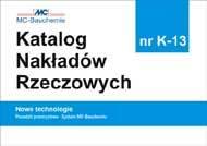 KNR K-13 KOPRIN  Posadzki przemysłowe - System MC-Bauchemie