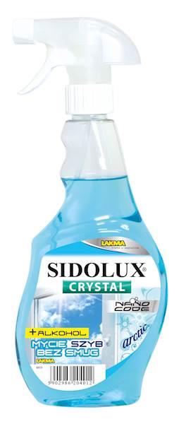 PROMO!!! SIDOLUX CRYSTAL pł.do szyb 500ml ARCTIC