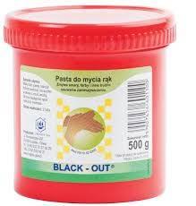 BLACK OUT - PASTA BHP do rąk 500G
