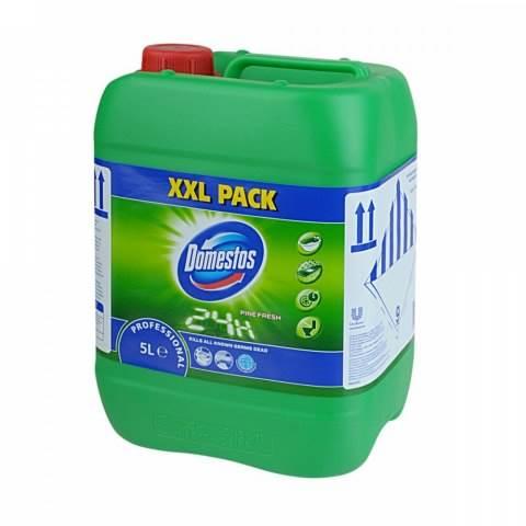 PROMO!!! DOMESTOS 5L płyn do WC zielony pine