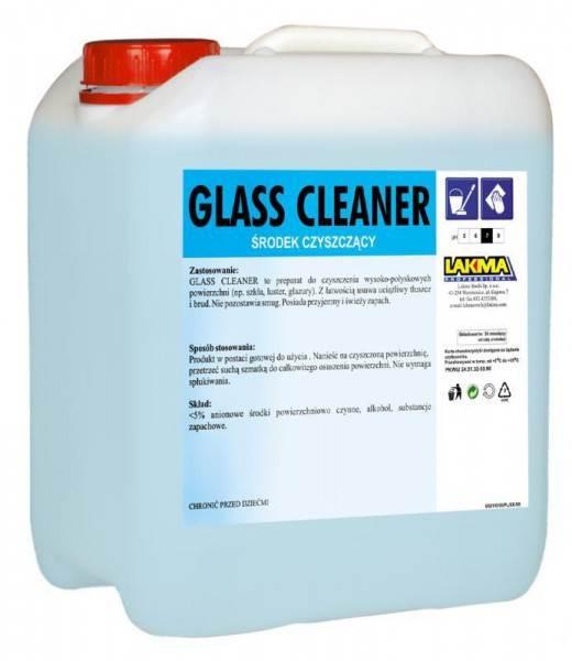 GLASS CLEANER 10L płyn do szyb LAKMA