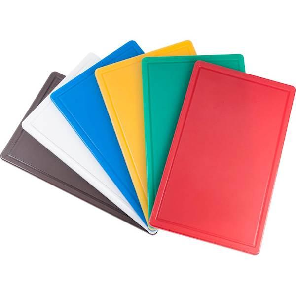 Deska do krojenia HACCP 450x300mm 341451 czerwona