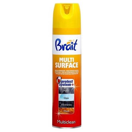 BRAIT MULTICLEAN polit. do mebli 350ml żółty