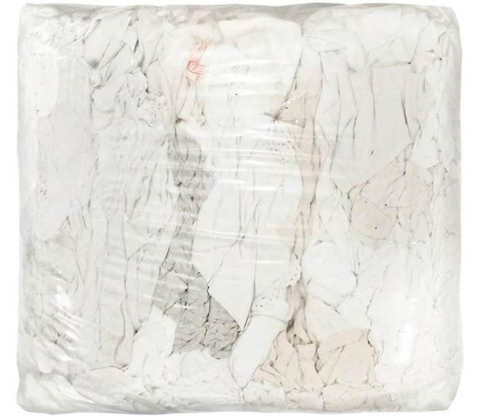 CZYŚCIWO materiałowe BIAŁE N/C  op.10kg odzieżowe