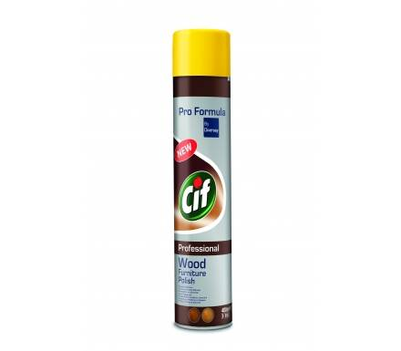 CIF 400ml Furniture spray do mebli brązowy
