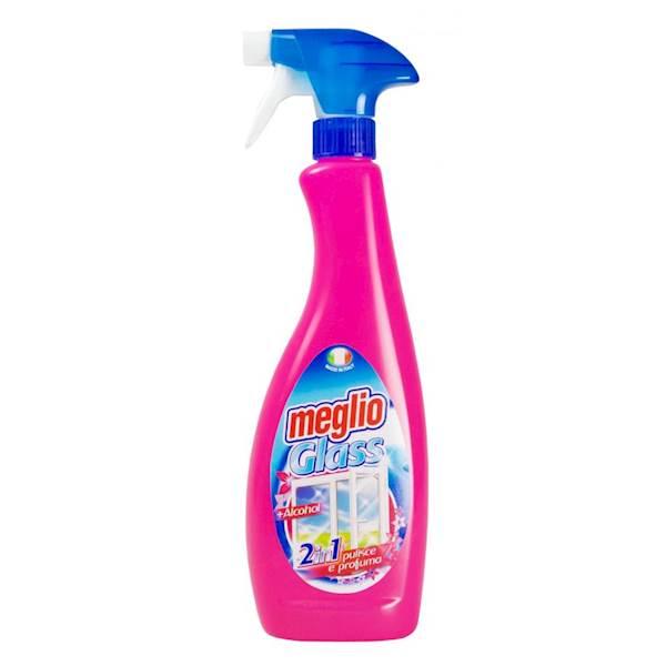 MEGLIO Glass szyby 750ml spray różowy