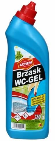 BRZASK WC-GEL 750ml niebieski/zielony ....20