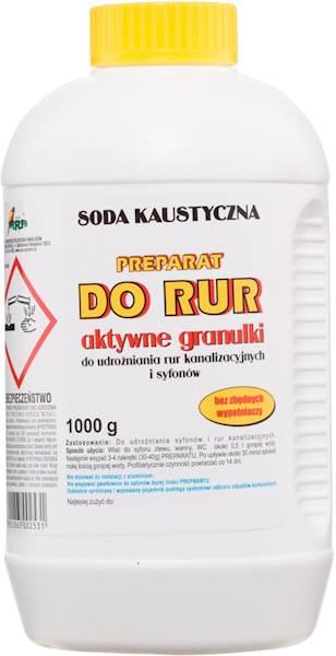 SODA KAUSTYCZNA 1000g preparat do udrażniania rur
