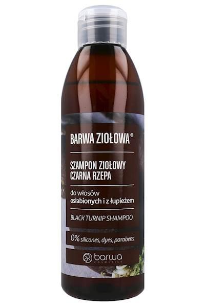 BARWA ZIOŁOWA szampon 250ml CZARNA RZEPA