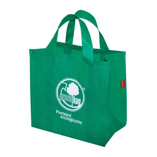 GREEN BAG torba materiałowa GAM zielona /25/