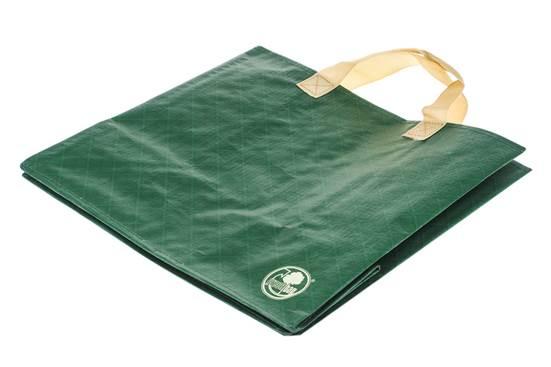 TORBA laminowana ZIELONA KOSTKA Green Bag