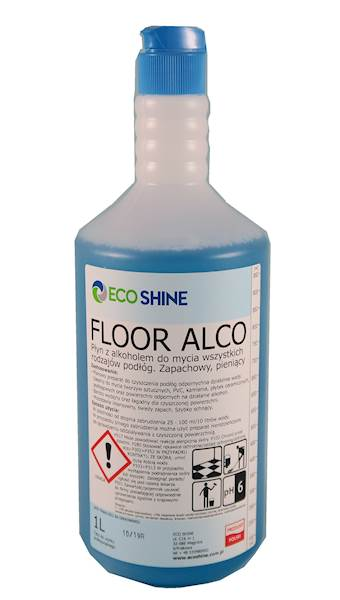 FLOOR ALCO 1L płyn z alkohol.do podłóg Eco Shine