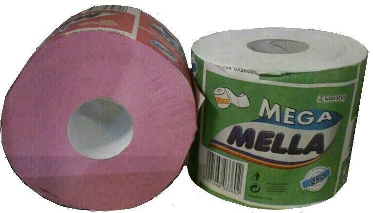MELLA PAPIER toal.op.36szt BIAŁY makulaturowy 68m