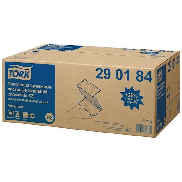 TORK ręcznik ZZ 4000 biały Advanced H3 290184 2w.