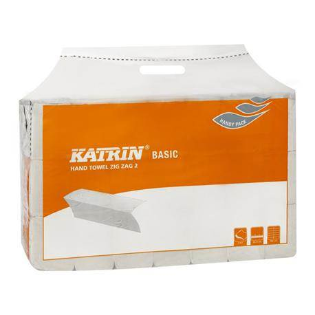 PROMO!!! RĘCZNIK Z-Z biały 2w KATRIN BASIC 76957