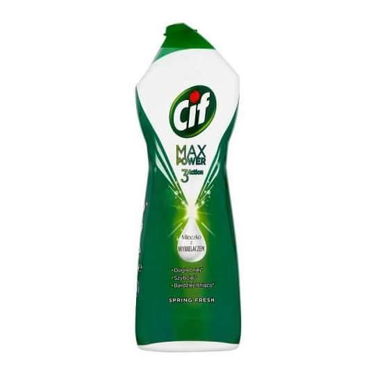 PROMO!!! CIF mleczko 1001g SPRING zielone MAX