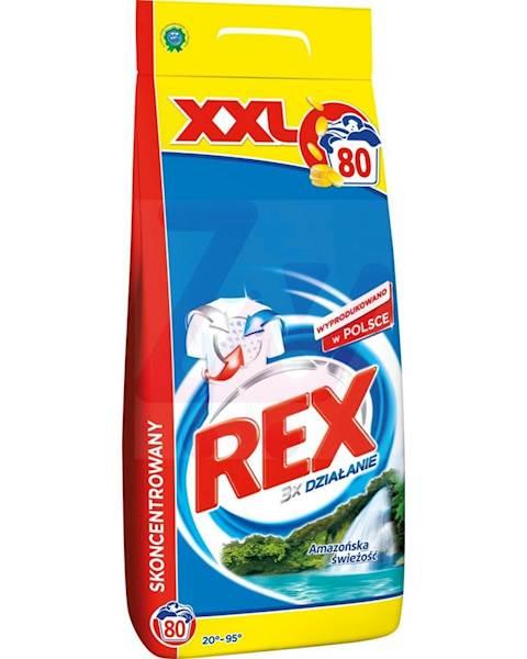 REX 6kg proszek DO BIAŁEGO Amazonia Fresh