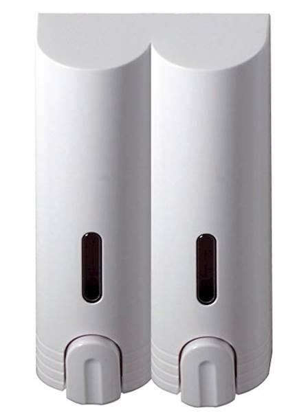 DOZOWNIK do mydła DWUKOMOROWY 2x400ml DH800-2