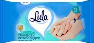 LULA CHUSTECZKI odświeżające op.15szt Antybak./144