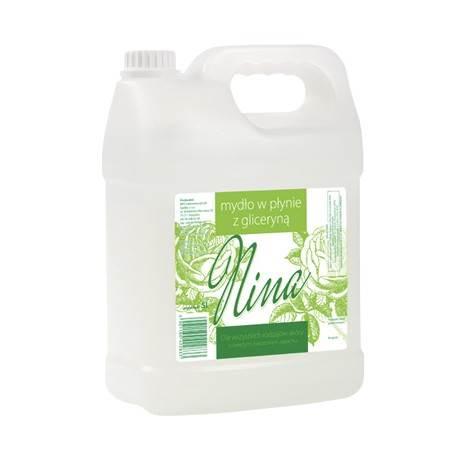 NINA - mydlo 5L z gliceryną BIAŁE