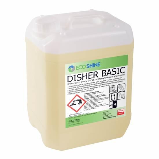 DISHER BASIC 12kg mycie w zmywarkach Eco Shine